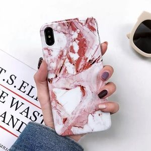ROSE MARBLE IPHONE 7 8 X/XS PLUS CASE LUXURIOUS
